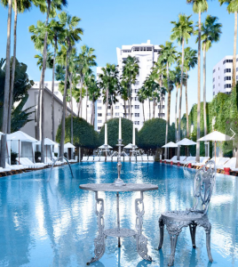 The pool at the Delano