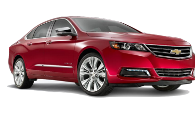 The 2014 Chevrolet Impala in Crystal Red. Oh yeah.
