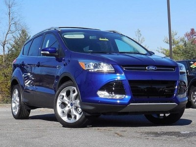 We loved the Deep Impact Blue of the Escape we drove