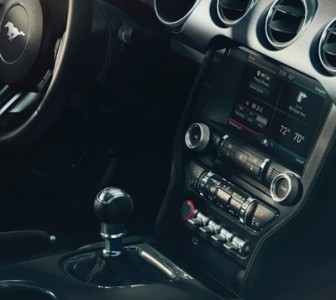 Switches on the bottom of the console (just in front of the gear shift) allow the car to shift into sport, track, normal or wet/snow mode, increasing its capability in bad weather.