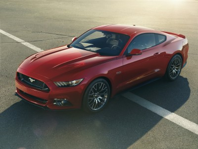 The all new 2015 Mustang