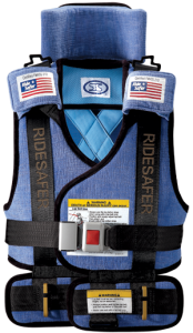 The Ride Safer Vest: The Booster Seat Alternative