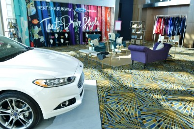 Ford Fusion Rent the Runway Promo