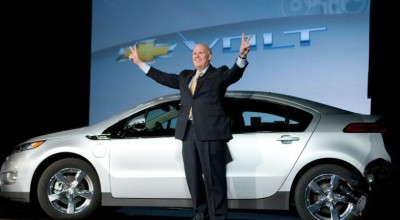 Dan Akerson, former CEO General Motors, introducing the Volt