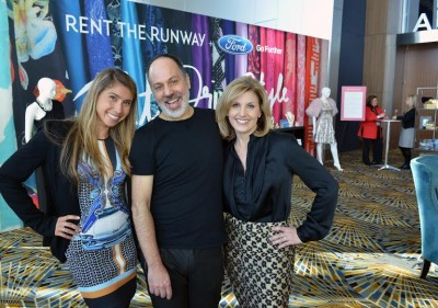 Styling with Ford Fusion: Jennifer Fleiss, Co-Founder, Rent the Runway;  Anthony Prozzi, Senior Interior Designer, Ford; Amy Marentic, Group Marketing Manager, Ford