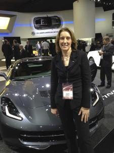 2014 Corvette Stingray designer Helen Emsley