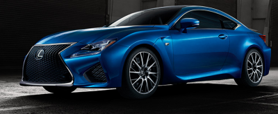 Lexus challenges BMW and Mercedes with the new RCF