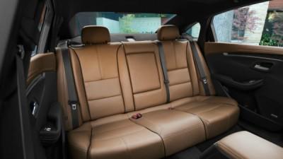Chevy Impala Back Seat