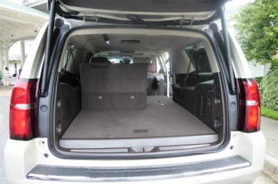 Storage Space in the 2015 Chevy Suburban