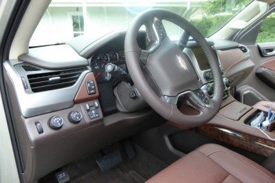Interior of the New 2015 Chevy Suburban