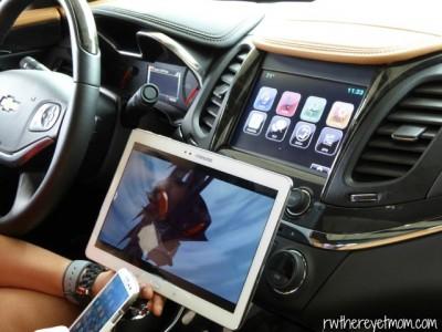 Chevy's MyLink wifi