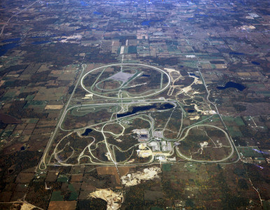 Milford Proving Ground in Milford, MI, where General Motors tests all its cars and trucks