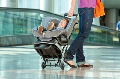 Britax Advocate Car Seat and Travel Cart