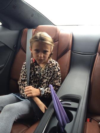 Cadillac ELR backseat