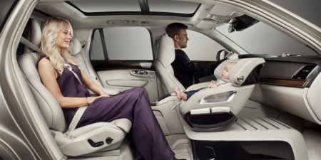 Riding Shotgun In A Volvo XC90 - Your Infant
