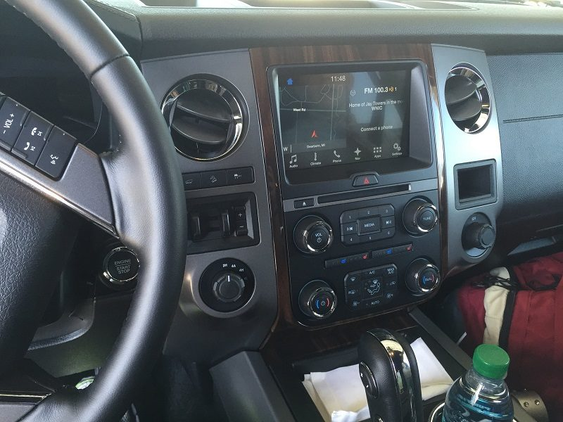 2016 Ford Expedition Dashboard