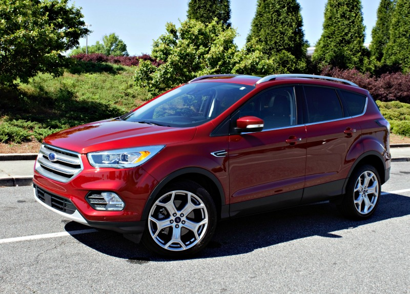 A 2017 Ford Escape Anium Review The Perfect Cat For Styling Around Town Or Taking