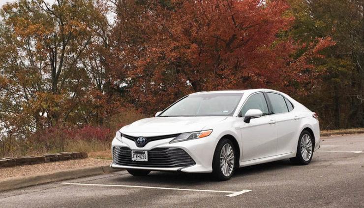 2018 Toyota Camry Hybrid On The Talemina Drive