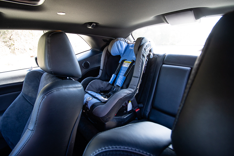 Sporty with space? Yes, you read that right. The Dodge Challenger has great backseat space.