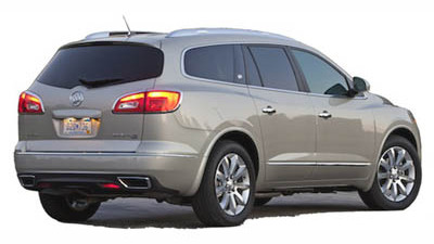 2013 Buick Enclave: Space and Luxury Make For A Successful Road Trip