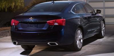 Impala rear end
