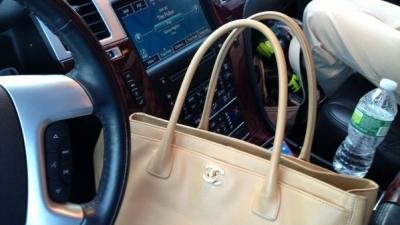 Luxury Travel Mom's Handbag Challenge