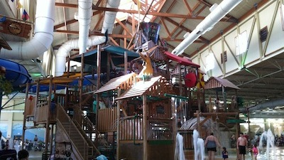 Teens Find Fun at Great Wolf Lodge