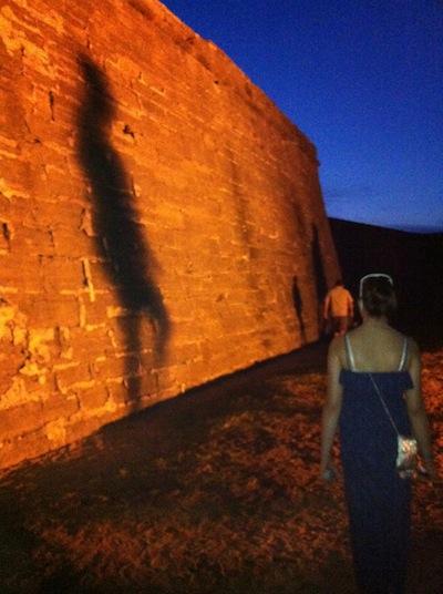 Castillo wall