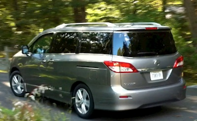 The Nissan Quest LE Mini Van