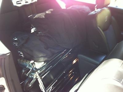 CAbi in back seat