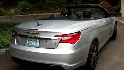 Hunker Down This Winter in a Chrysler 200S Convertible