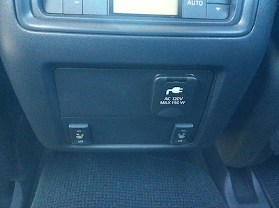 rear seat heaters and plug