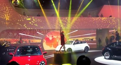 VW space at NAIAS