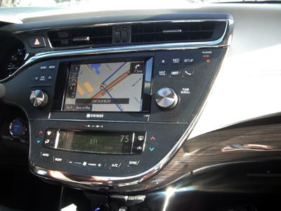 2013 toyota avalon hybrid navigation