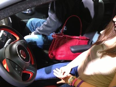 Fiat handbag spot