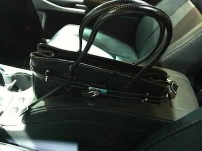 Highlander handbag console