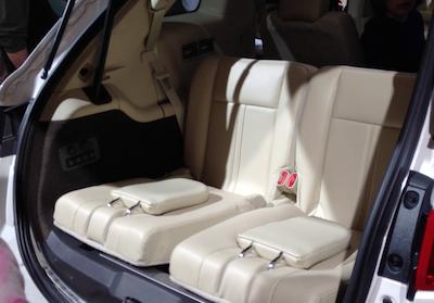 MKT rear seats