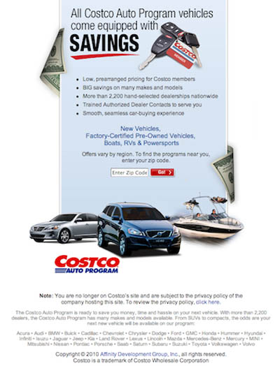 Costco Auto Program >> I Bought My Car From Costco Agirlsguidetocars Costco Auto Program